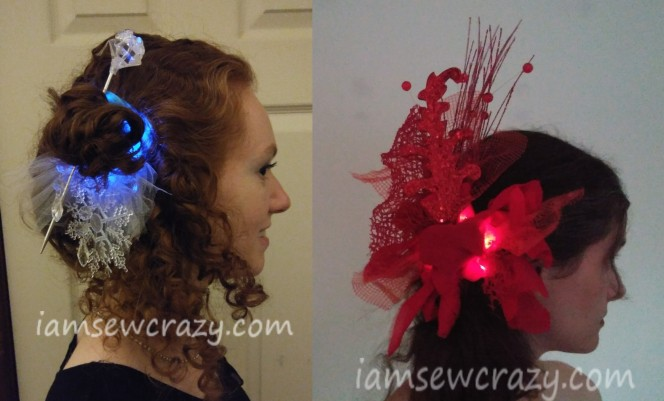 making your own fascinator
