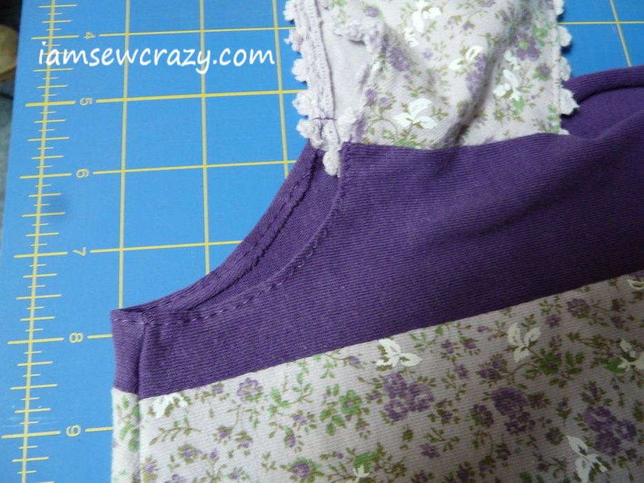 t shirts upcycled into a new top