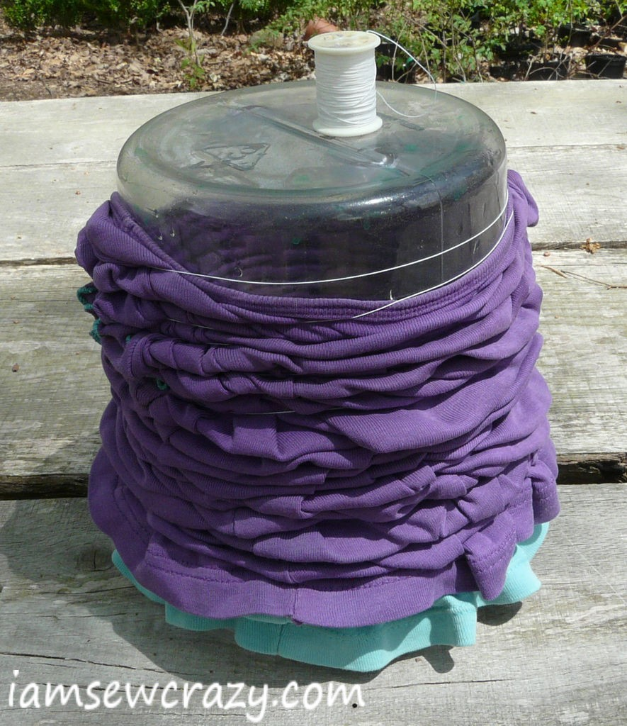 dyeing a t-shirt