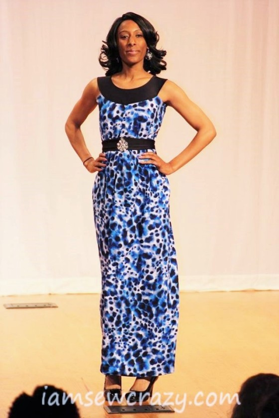 unconventional maxi dress