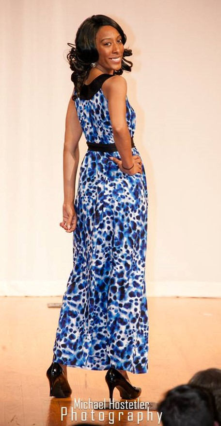 unconventional maxi dress
