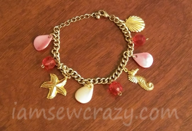 charm bracelet for the beach outfit