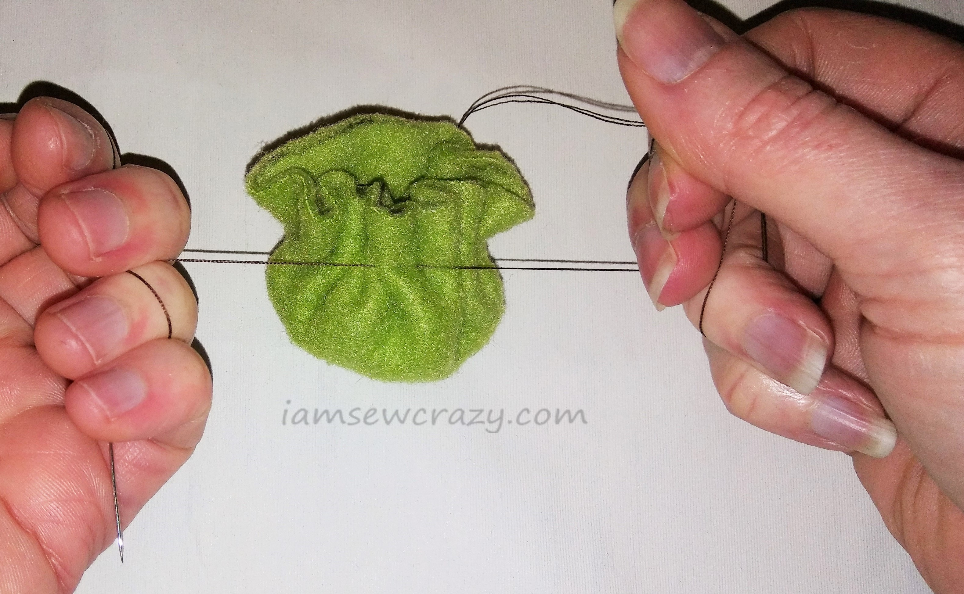 sewing fleece pet toys