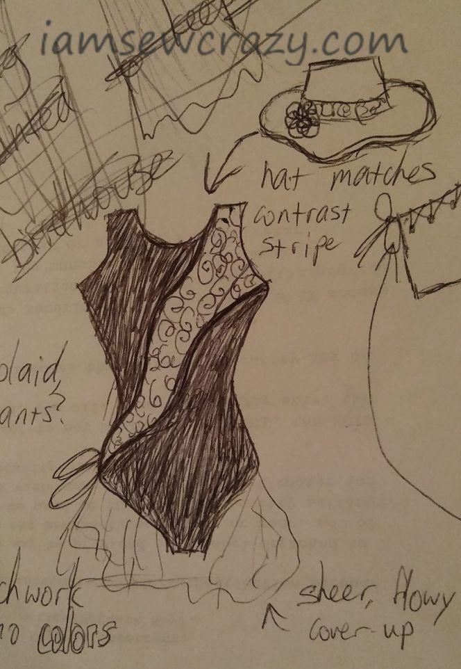 swimsuit concept art