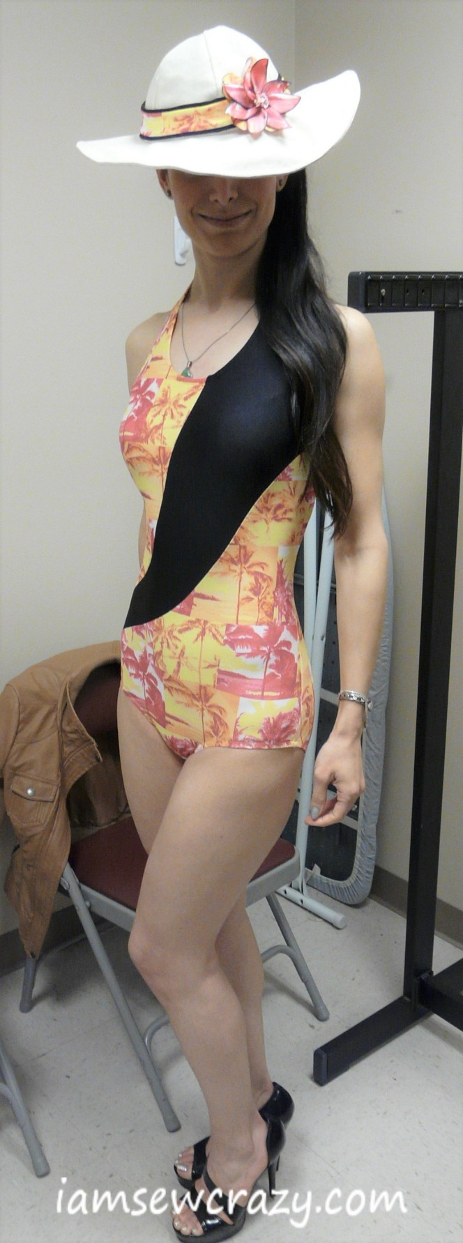 Fashion show swimsuit fitting