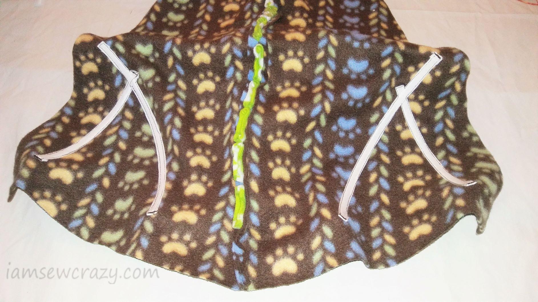 boning sewn in