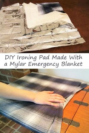 DIY ironing pad tutorial
