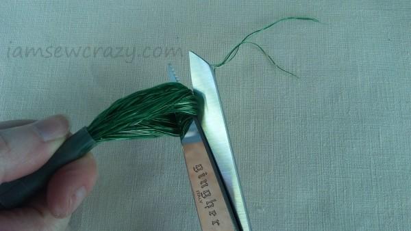 cutting thread loops