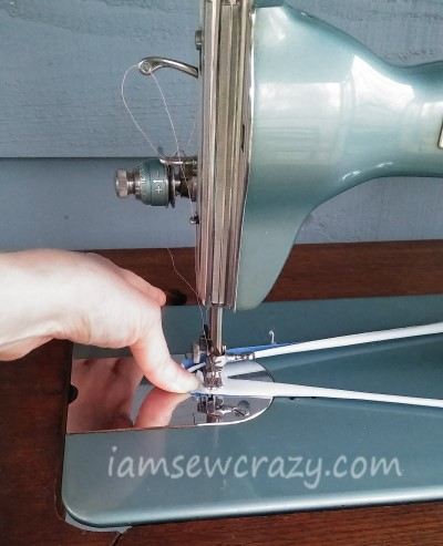 making a treadle sewing machine belt