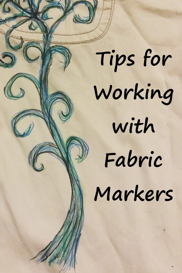 using fabric markers