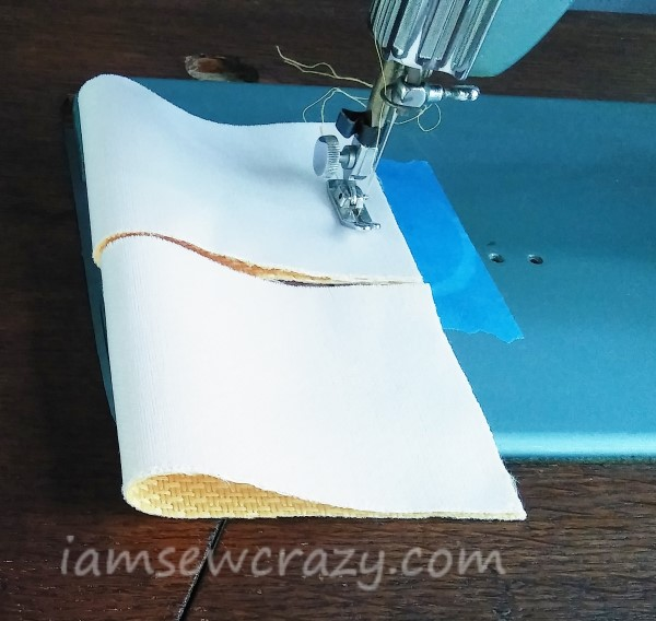 chain piecing on a sewing machine