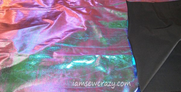 metallic foil fabric