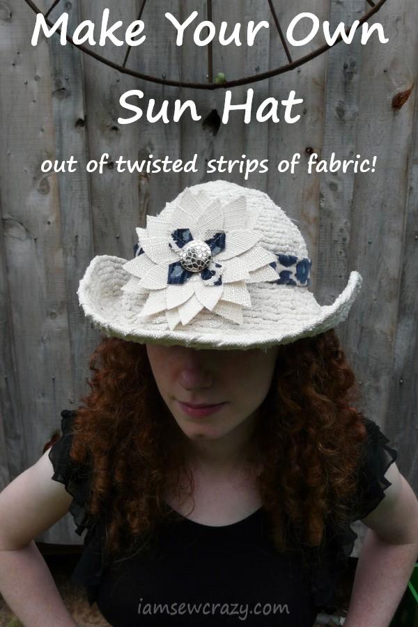 tan cowgirl-style sun hat