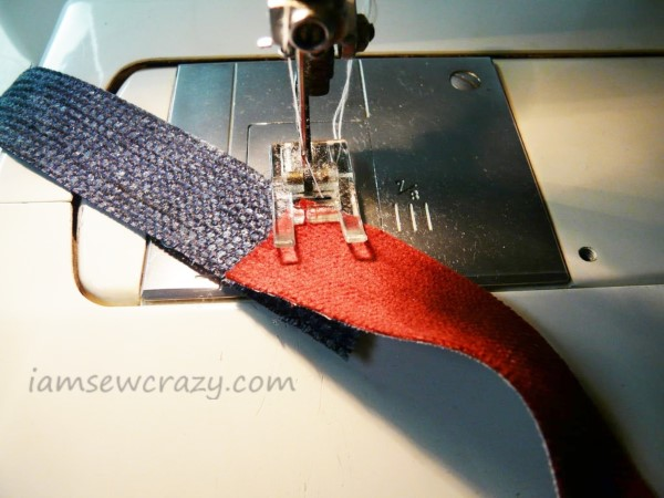 joining fabric strips together