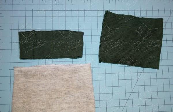 folding cuff piece