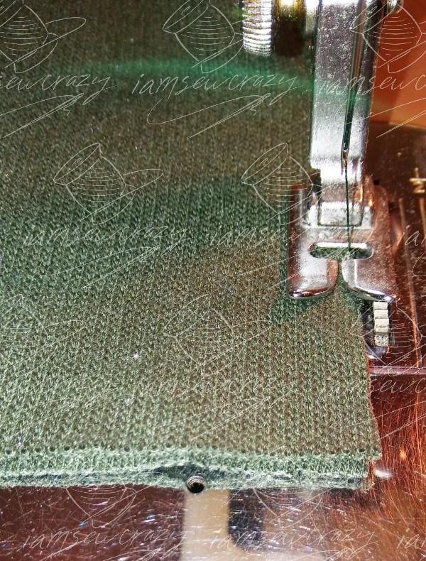 sewing cuff seam