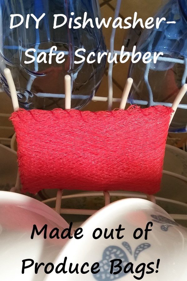 dishwasher-safe DIY scrubber