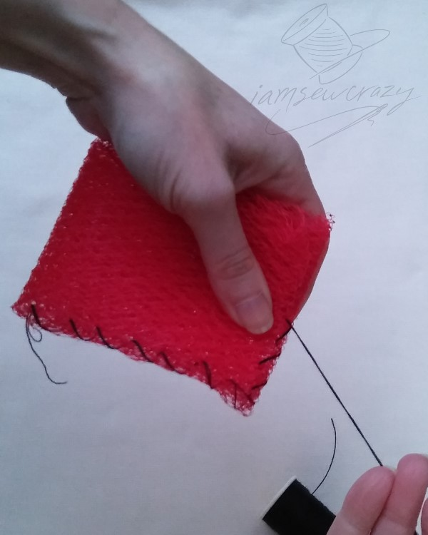 sewing mesh scrubber