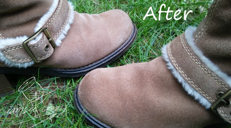 cleaning suede boots