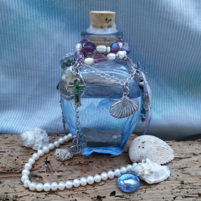 message in a bottle craft