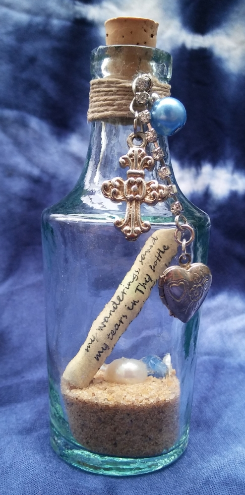 bible verse message in a bottle picture