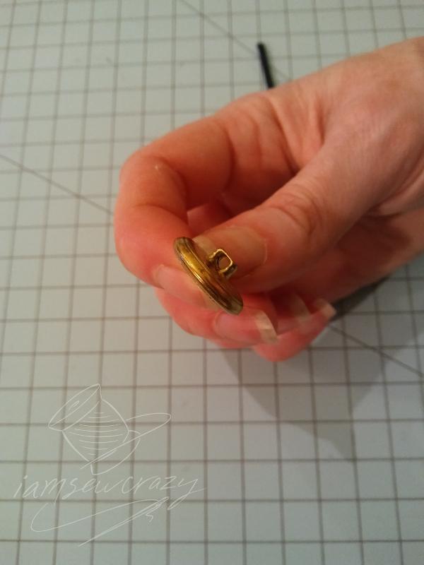 button to make waistband extender
