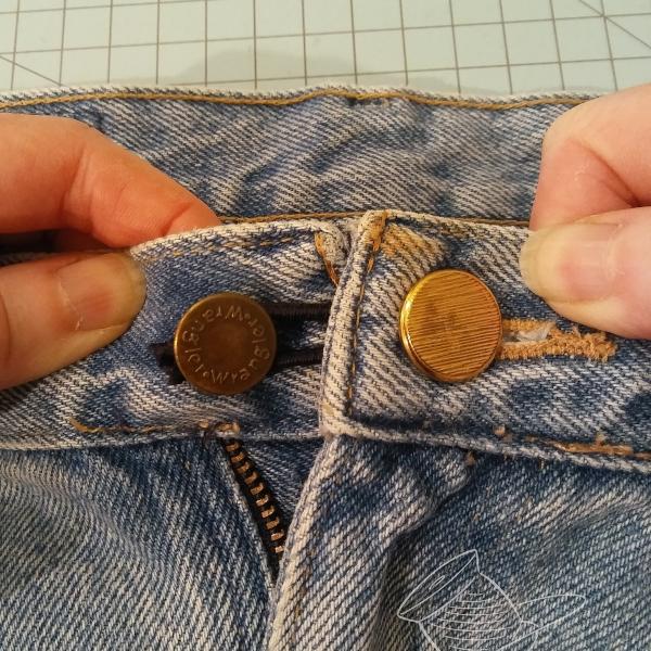 DIY waistband extender