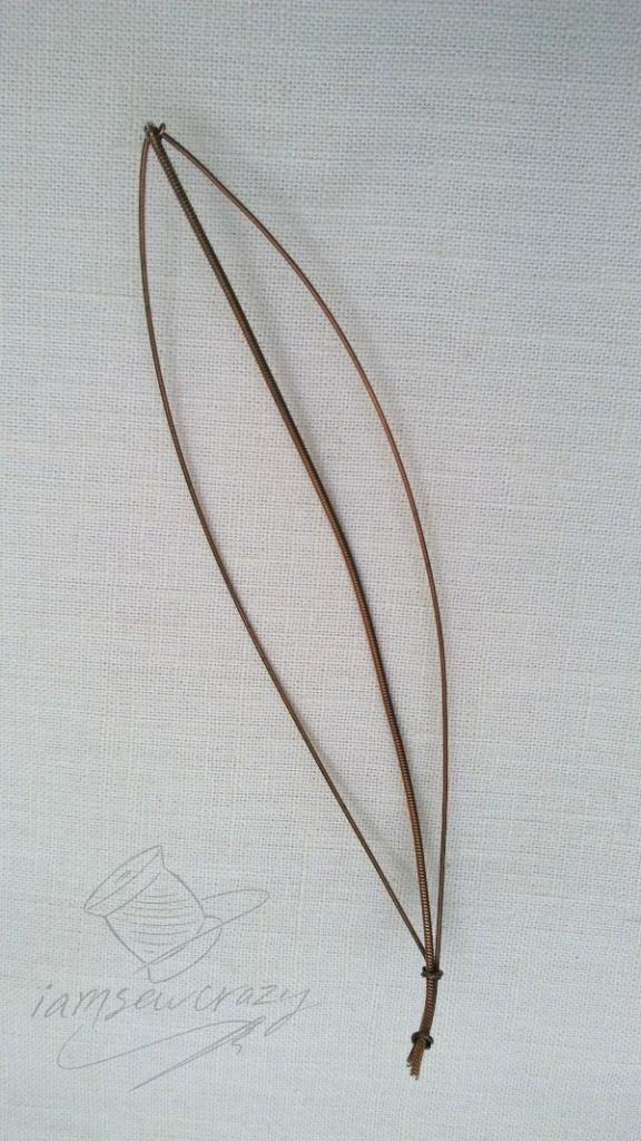 guitar string lily leaf