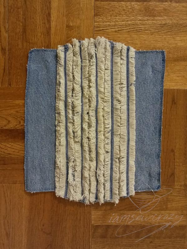 diy cotton chenille mop pad