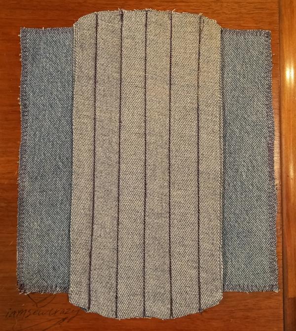 mop pad layers