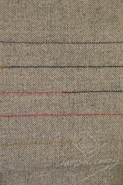 using up sewing bobbins that are almost empty