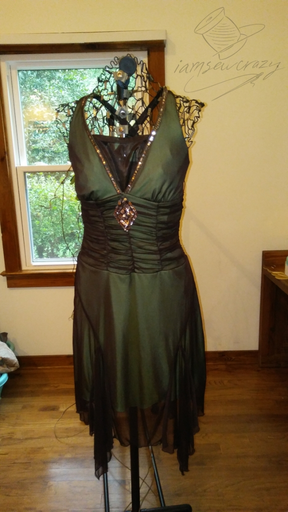 forest fairy dress