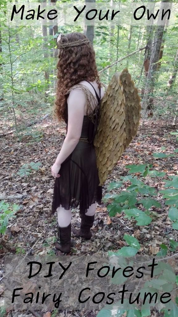 make your own forest fairy costume